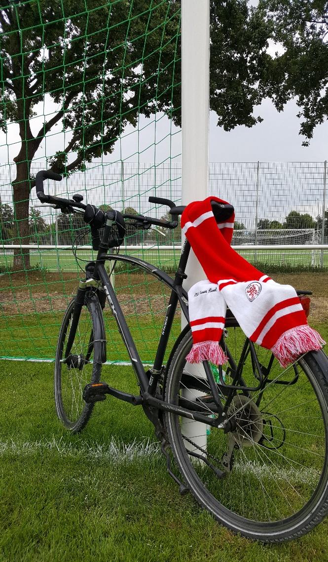 Mit dem Rad zum Kreispokal-Viertelfinale
