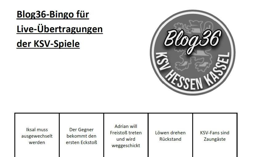 Spielspaß zum Saisonende: Das Blog36-Bingo fürKSV-Spiele